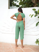 Load image into Gallery viewer, HAYWORTH JUMPSUIT - BASIL
