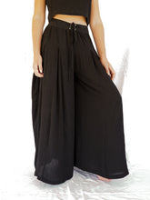 Load image into Gallery viewer, ASTRA PALAZZO PANT - BLACK