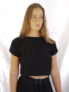 KOSMA TOP - BLACK