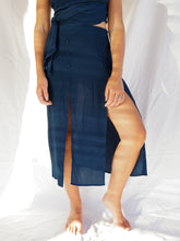 Load image into Gallery viewer, PANDORA SKIRT - MIDNIGHT