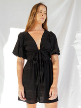 Load image into Gallery viewer, ZADIE DRESS - BLACK