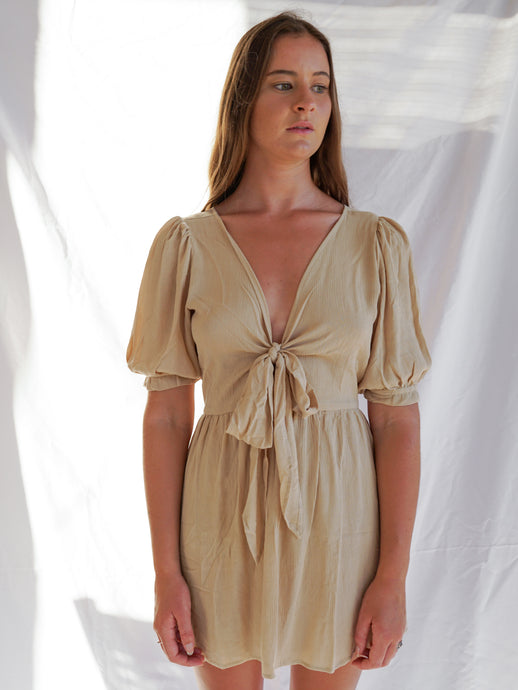 ZADIE DRESS - OATMEAL