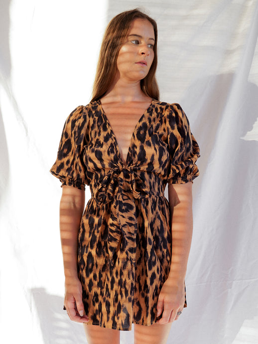 ZADIE DRESS - LEOPARD