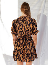 Load image into Gallery viewer, ZADIE DRESS - LEOPARD