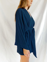 Load image into Gallery viewer, LILITH KIMONO - MIDNIGHT