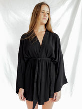 Load image into Gallery viewer, LILITH KIMONO - BLACK