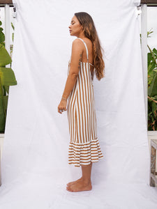 BELLUCCI DRESS - STRIPE