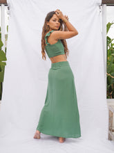 Load image into Gallery viewer, CALLIOPE SKIRT- BASIL