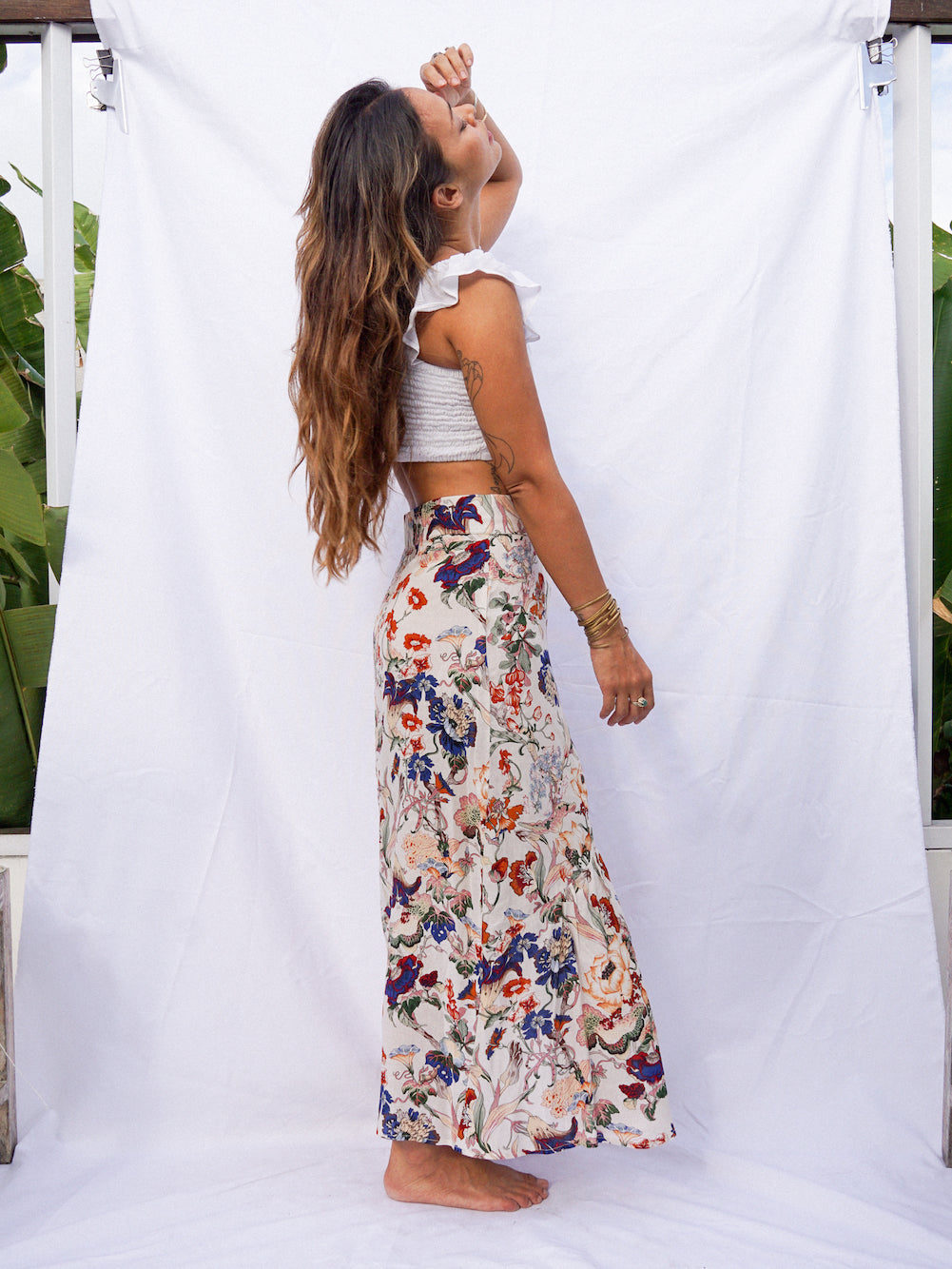 CALLIOPE SKIRT - FLORAL