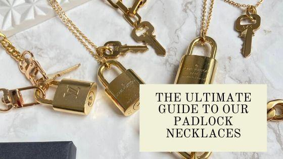 The Ultimate Guide To Our Padlock Necklaces