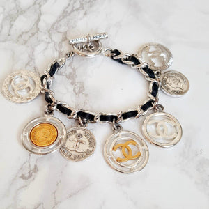 Authentic Bracelet from Repurposed Chanel Bracelet - Boutique SecondLife