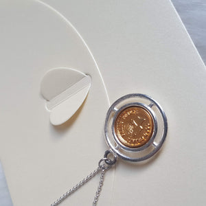CC Re-purposed Necklace from Authentic Bracelet