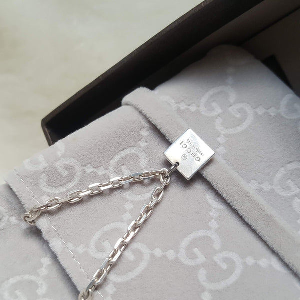 GIFT COLLECTION- Repurposed Gucci Pendant Square