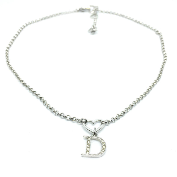 Authentic Dior Heart Vintage Necklace