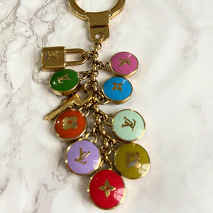 Authentic Louis Vuitton Pendant Reworked Pastilles Pendant