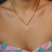 Load image into Gallery viewer, Authentic Medium Chanel CC Repurposed - Necklace