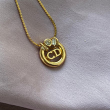 Load image into Gallery viewer, Reworked Authentic Dior Pendant - Necklace