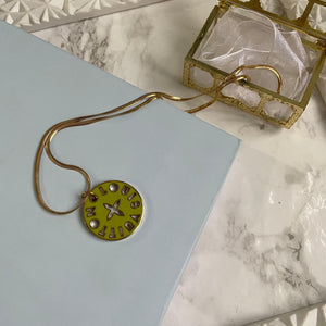 Reworked Pendant from Authentic Looping Charm