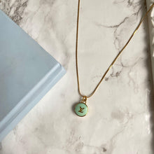 Load image into Gallery viewer, Reworked Mint Pastilles Pendant