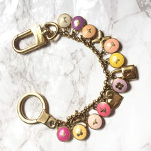 Load image into Gallery viewer, Repurposed Charm Bag Bracelet