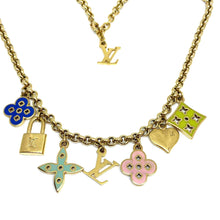 Load image into Gallery viewer, Authentic Louis Vuitton Padlock Pendant Reworked Pendant