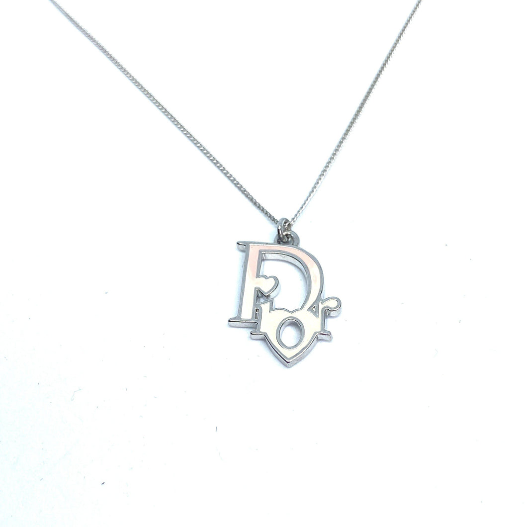 Reworked Necklace with Authentic Dior pendant