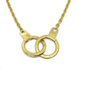 Gift Edition - Authentic Louis Vuitton Double Clasp- Reworked Necklace