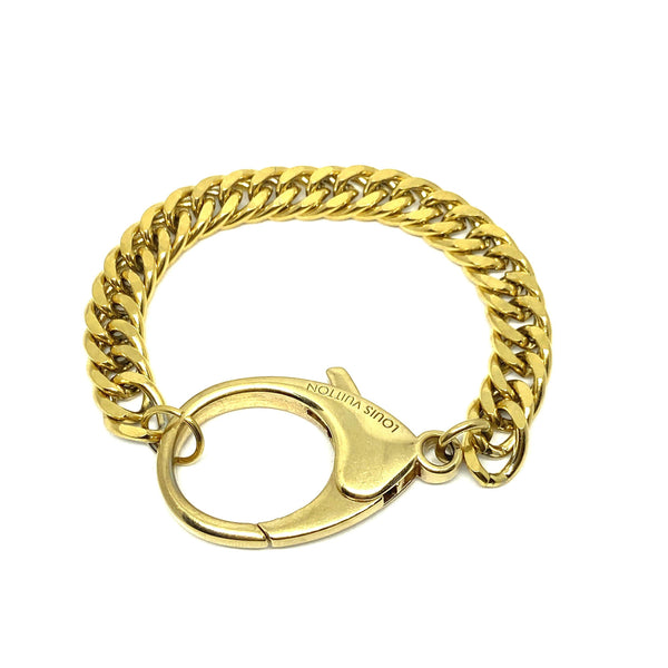 Repurposed Authentic Louis Vuitton Clasp - Bracelet