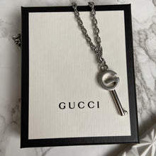 Load image into Gallery viewer, GIFT Edition - Repurposed Gucci Pendant Key