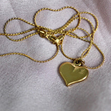 Load image into Gallery viewer, Authentic Louis Vuitton Heart Pendant- Necklace