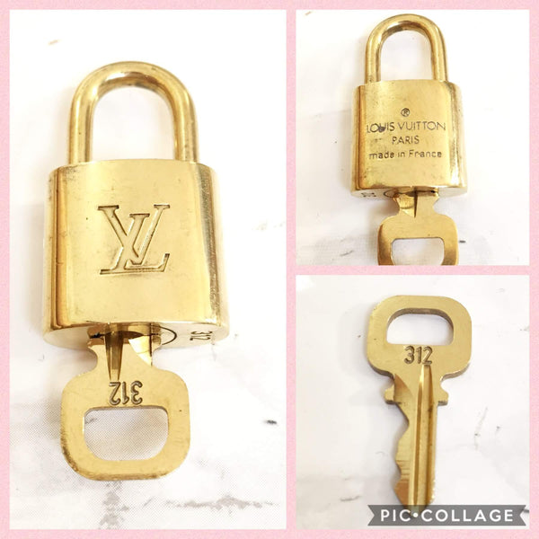 Boutique SecondLife - Authentic Used Louis Vuitton Padlock Key LV