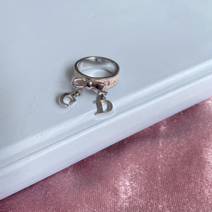 Authentic Dior Bow Size 5 Ring