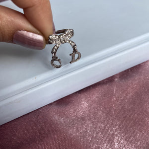 Authentic Christian Dior Size 6 Ring