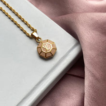 Load image into Gallery viewer, Authentic Louis Vuitton Rose Medium Pendant-Repurposed Necklace