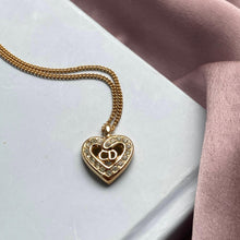 Load image into Gallery viewer, Authentic Dior Heart Pendant- Necklace