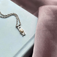 Load image into Gallery viewer, Authentic Dior Silver  Pendant- Necklace