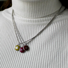 Load image into Gallery viewer, Reworked Clover Cerise Pendant