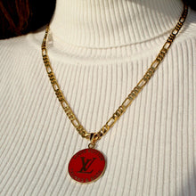 Load image into Gallery viewer, Reworked Red Pendant from Authentic Charm