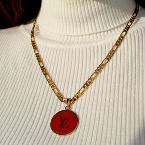 Reworked Red Pendant from Authentic Charm