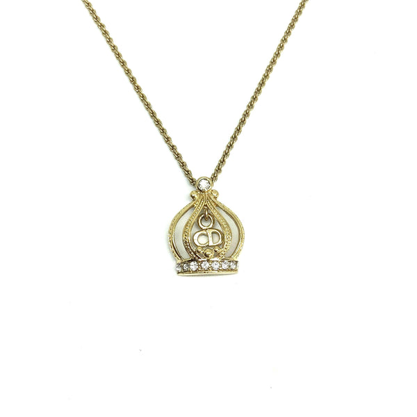 Authentic Dior  Pendant- Necklace