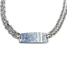 Load image into Gallery viewer, Repurposed Dior tag Choker from Authentic Dior Bracelet