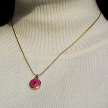 Load image into Gallery viewer, Logo fucsia Pendant