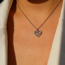 Load image into Gallery viewer, Authentic Dior CD heart Vintage Necklace