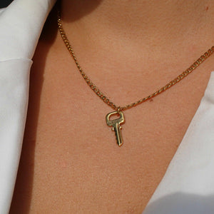 Authentic Louis Vuitton Key Pendant- Necklace