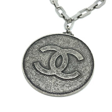 Load image into Gallery viewer, Authentic Chanel Big Round Pendant CC Repurposed Long Necklace