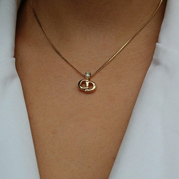 Authentic Christian Dior Vintage Pendant - Necklace