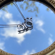 Load image into Gallery viewer, Authentic Dior Spellout Pendant - Necklace