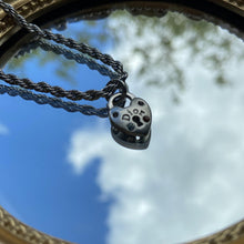 Load image into Gallery viewer, Reworked Dior Pendant - Necklace
