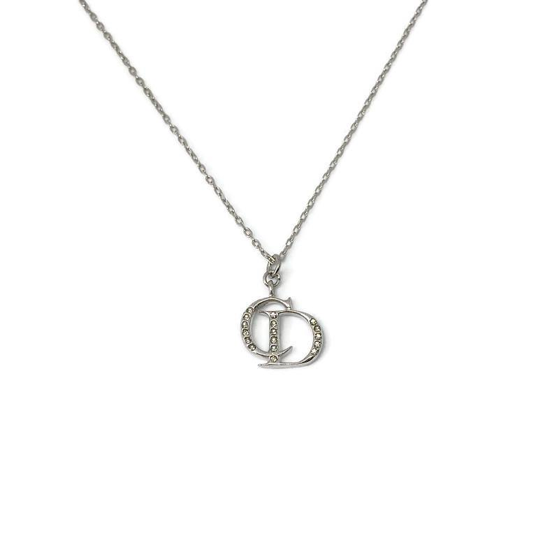 Reworked Dior Pendant - Necklace