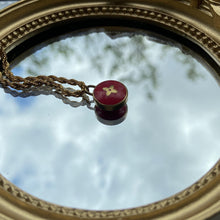 Load image into Gallery viewer, Authentic Louis Vuitton Red Pendant- Necklace
